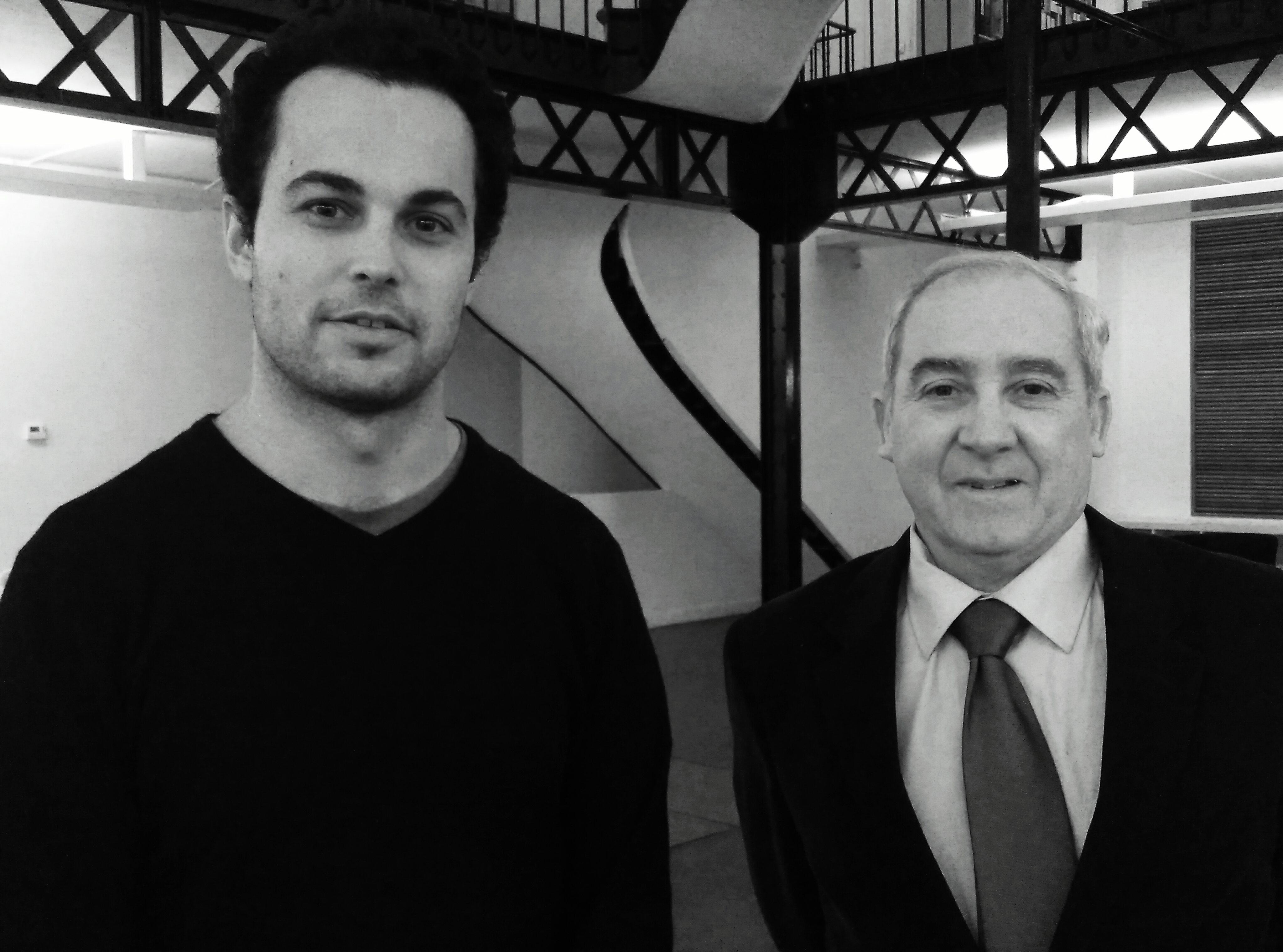 Michel Tacussel et Yves-Marie Levêque